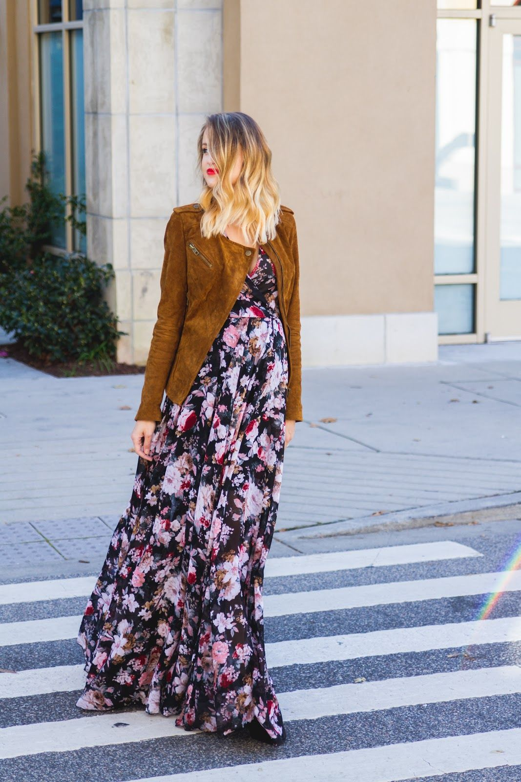 Little Blonde Book by Taylor Morgan | A Life and Style Blog : Floral and Suede |…