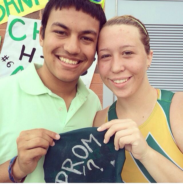 Got My Prom Date At The Water Polo Game!!! Promposal
