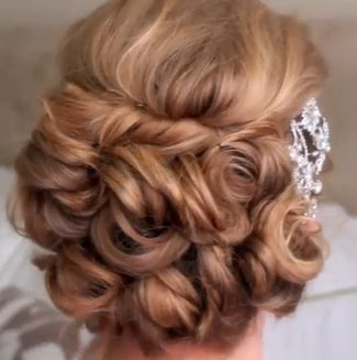 Makeup And How To Style For Girls Classic Bridal Updo Hair Style - Classic hairstyle tutorials