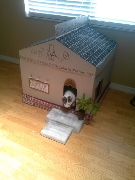 Picture of How To Make An Awesome Cathouse!