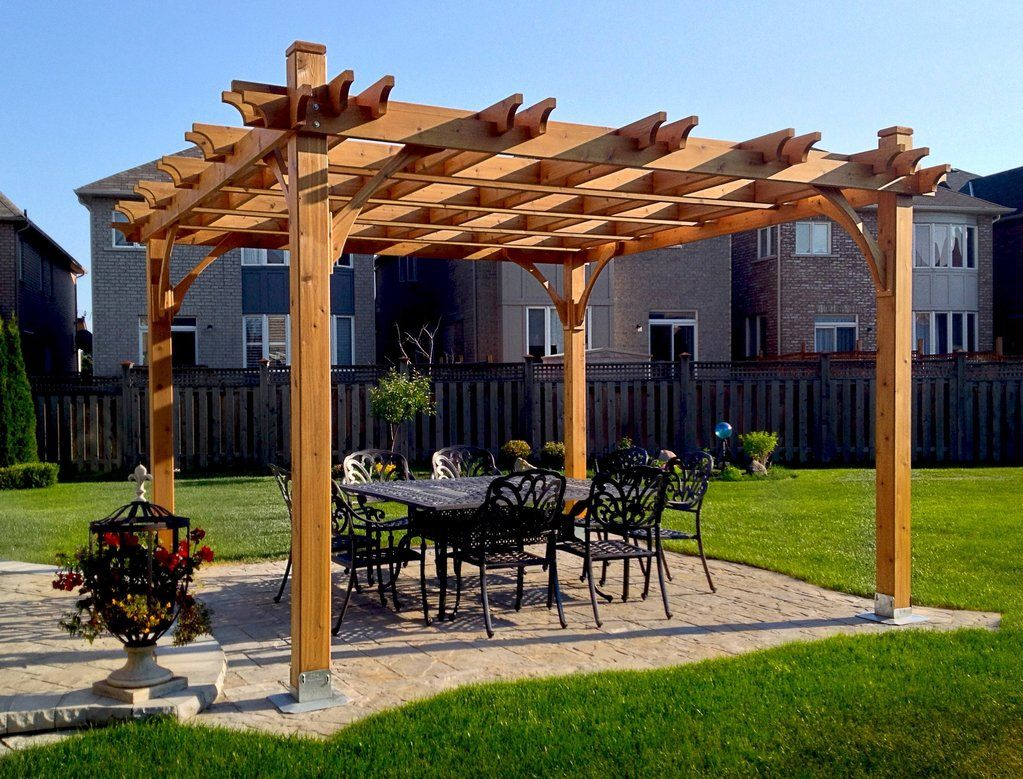 Outdoor Living Today Breeze Pergola Kit 12 X 12 Bz1212 Peaceful Patios Pergola Outdoor Living Outdoor Pergola Pergola