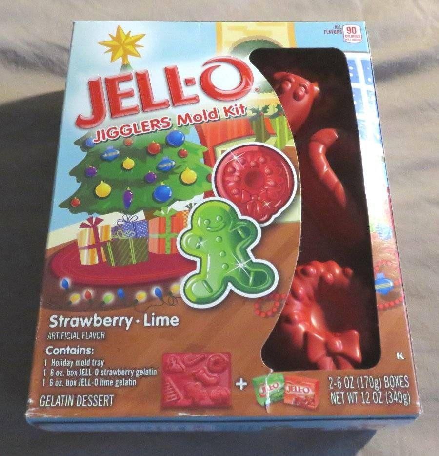 NEW Jello JIGGLERS Mold Kit CHRISTMAS Wreath Tree Reindeer
