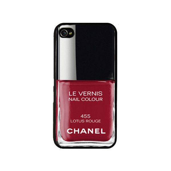 Chanel iphone case. Iphone 5 case. Chanel nail polish iphone cover ...