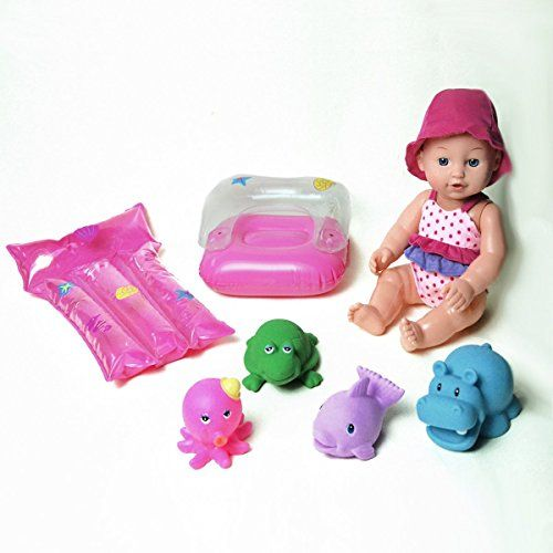 12 Splash Time Baby Doll Cutest Baby Doll With Swim Toys Great Toy Gift For Toddler Girls See T Baby Doll Toys My Life Doll Accessories Cute Baby Dolls