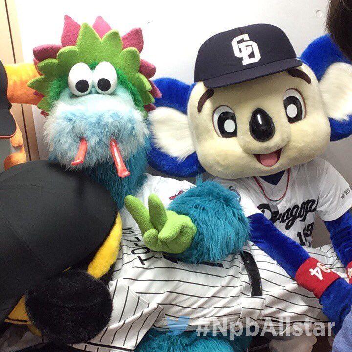 日本野球機構 Npb On ドアラ 球団マスコット きぐるみ