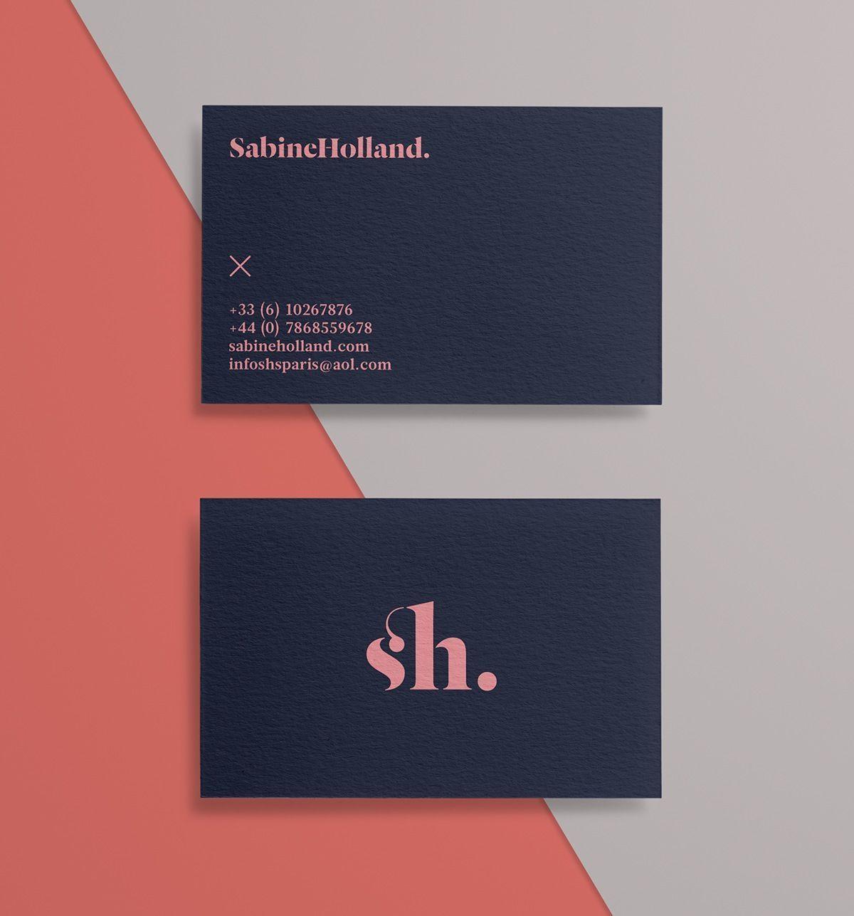 Elegante Mode Visitenkarten Gratis Download Mit High