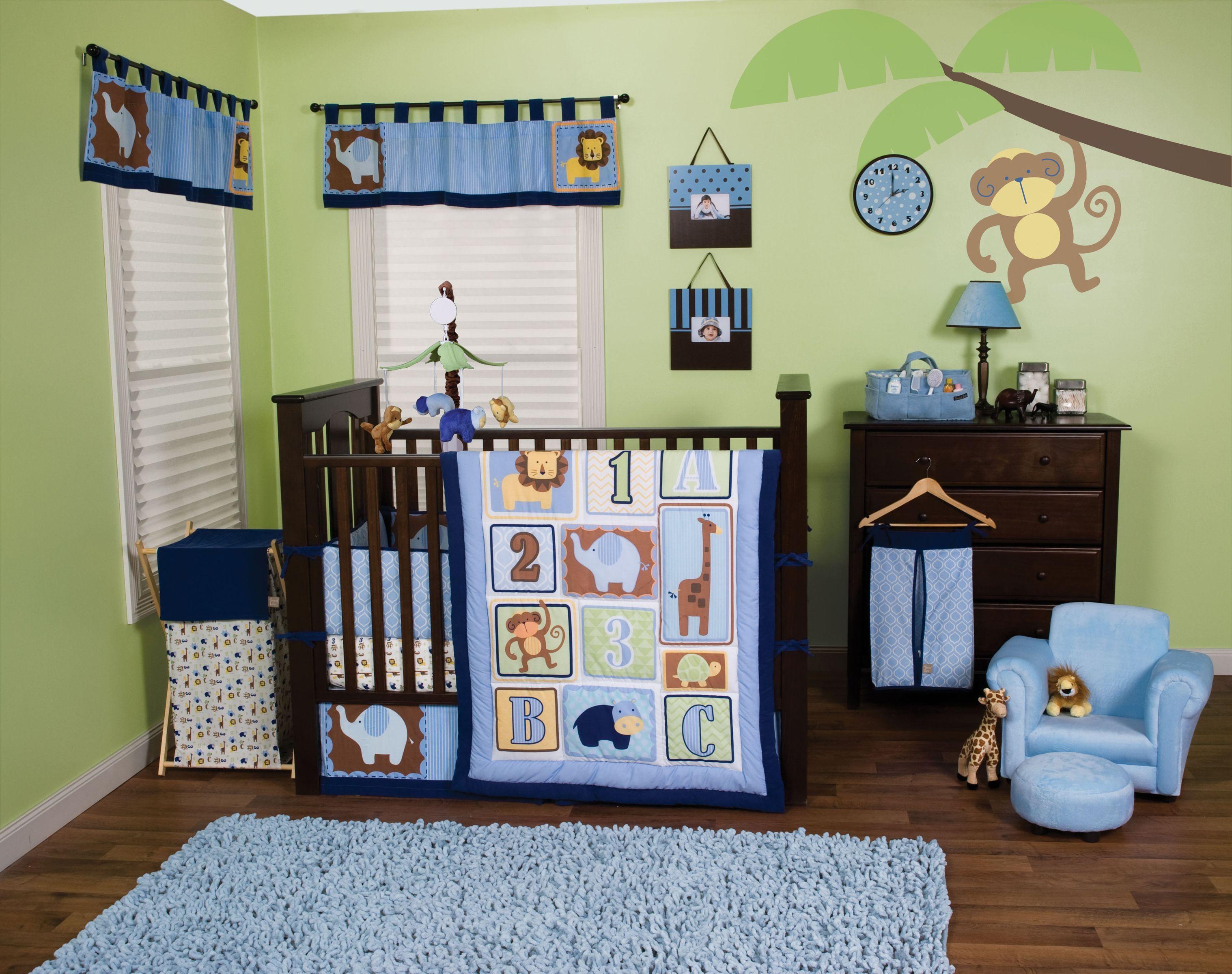 Trend Lab S Jungle 123 Crib Bedding Includes Quilt