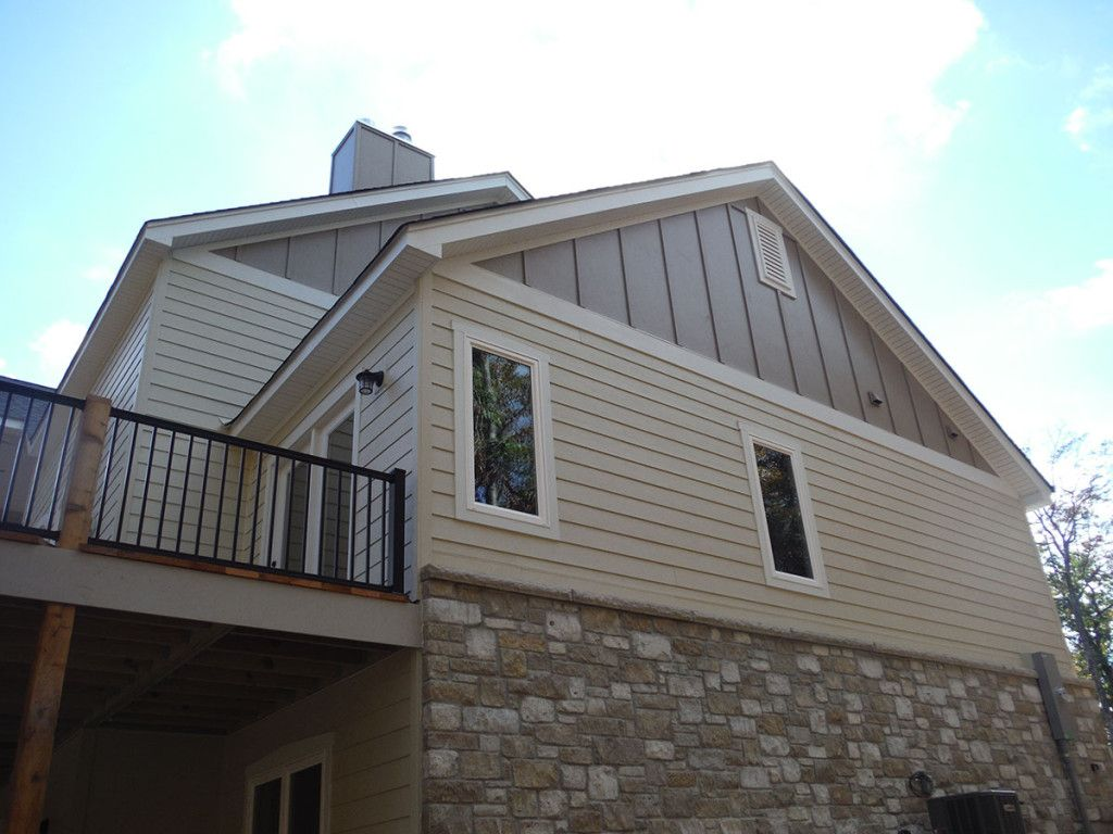 Fresh Exterior Solution Ideas Using Board And Batten Siding Faux Stone And Board Batten