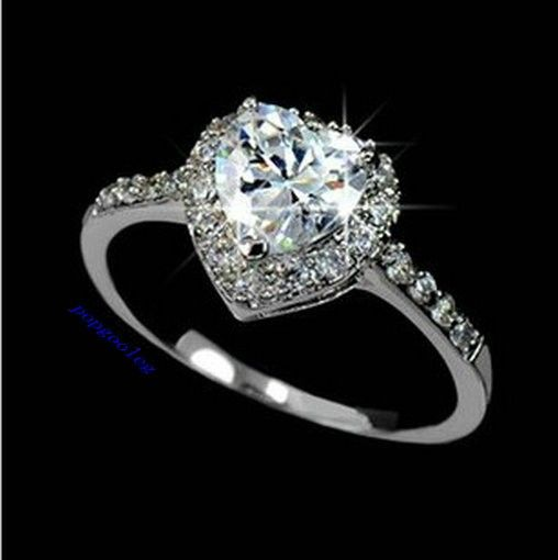 swarovski crystal engagement ring Google Search beautyfull