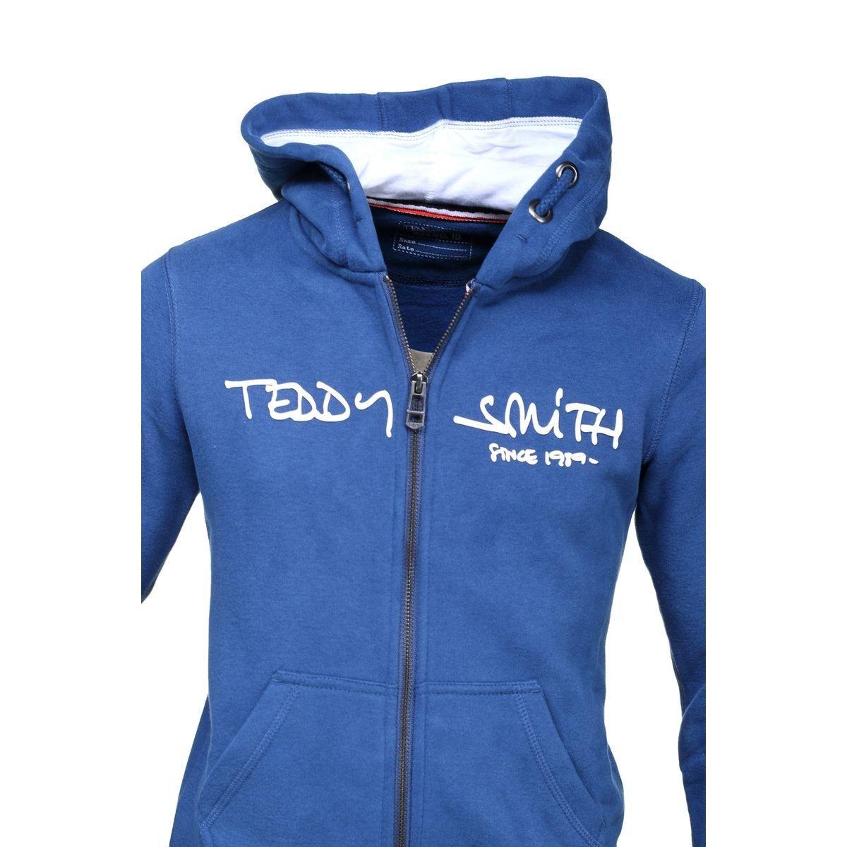 Sweat Zippé À Capuche Teddy Smith Junior