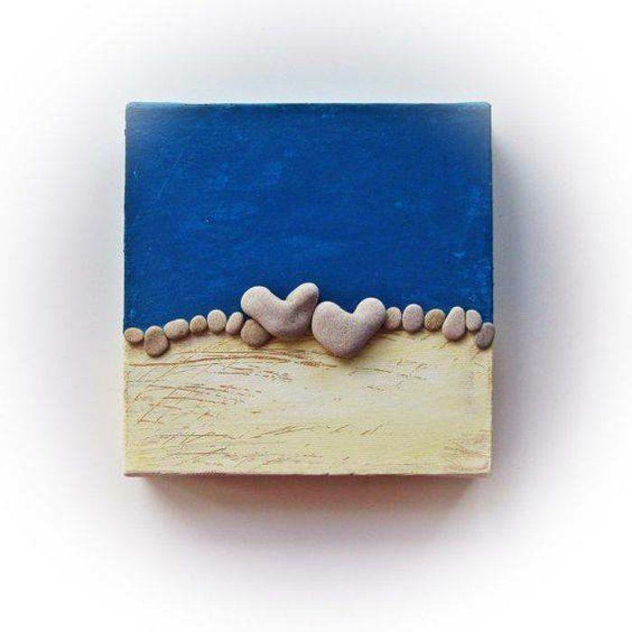 steine bemalen geschenkideen bemalte steine basteln mit steinen herzen #bastelnmitsteinen