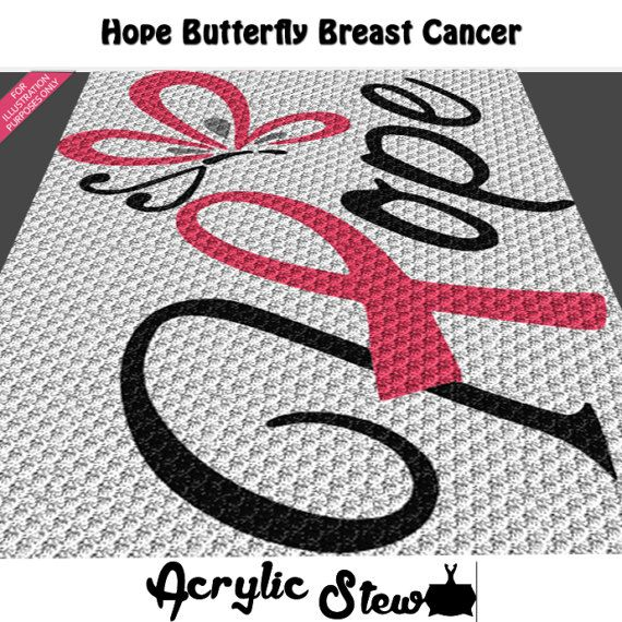Graphgan Pattern - Corner to Corner - C2C - Breast Cancer Hope ...