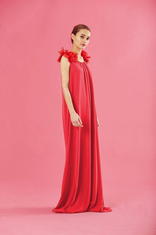 Coosy - VESTIDO GRIMI ROJO | Coosy SS17 | Pinterest | Rojo, Vestidos ...