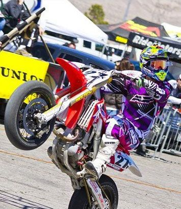 Supermoto Rider Dustin Hoffman Makes A Splash In 2012 Racing Sx