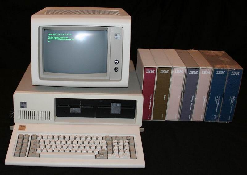 Dos-os PC-t ábrázoló kép.
