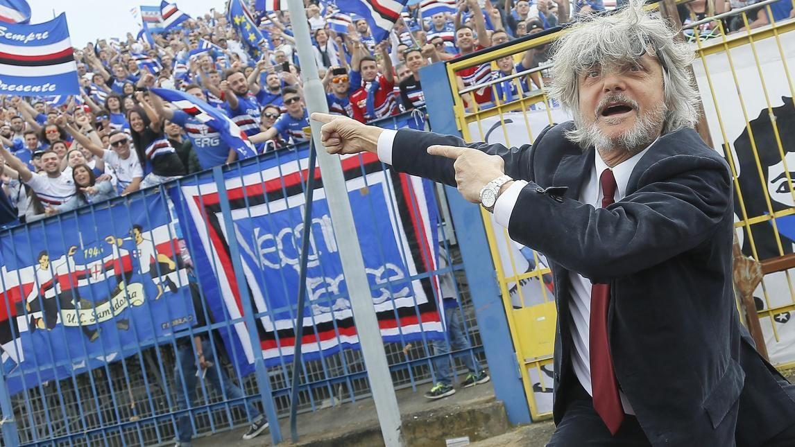 FOTO Samp, che show di Ferrero al Castellani! - Corriere dello Sport