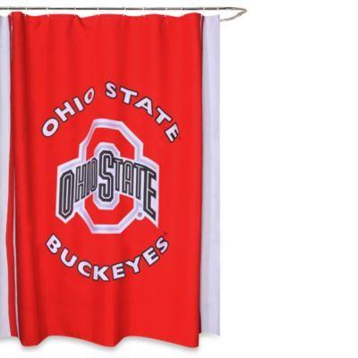Ohio State University 71 Inch X 71 Inch Shower Curtain