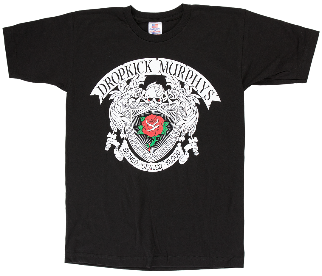 Dropkick murphys rose tattoo t shirt Tattoo t shirts