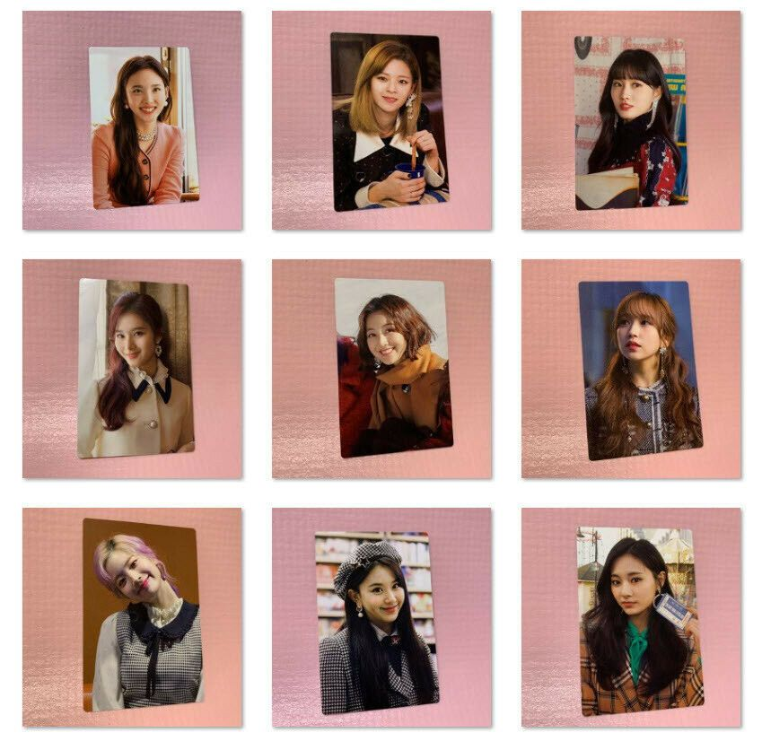 "TWICE THE YEAR OF ""YES"" Monograph Official PHOTOCARD ONLY"