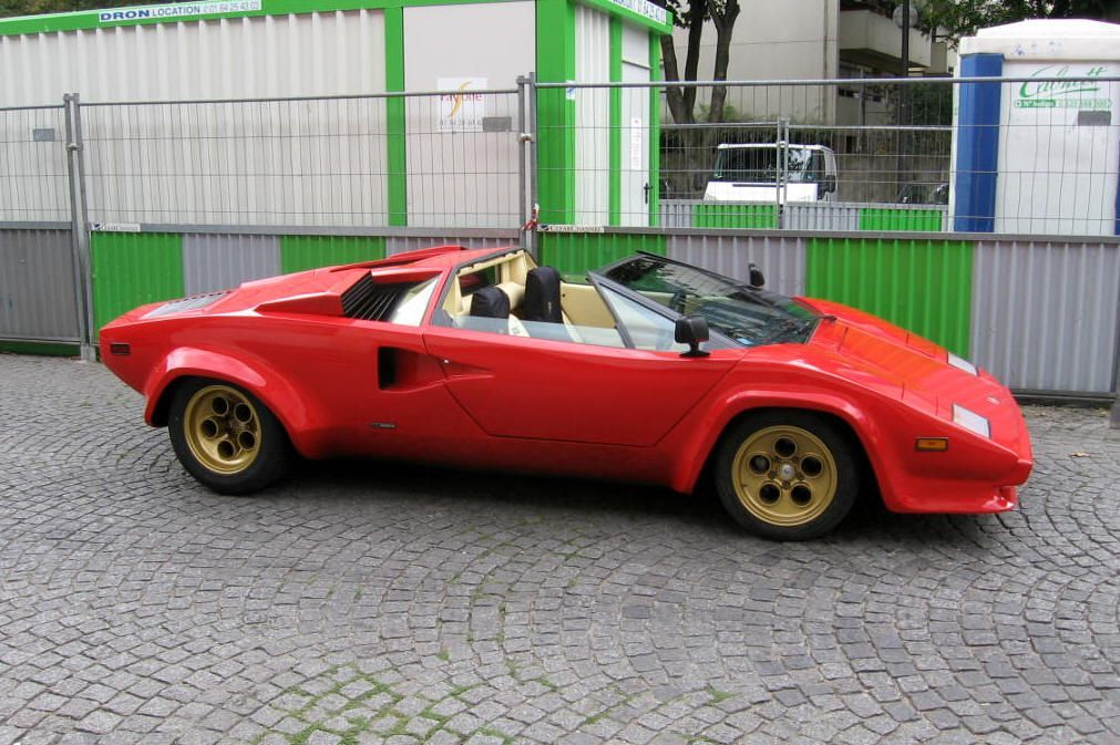 Lamborghini Countach Lp400 Spider The Kid Cars