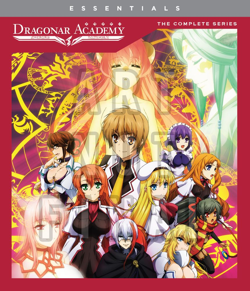 Dragonar Academy The Complete Series [Bluray] Anime