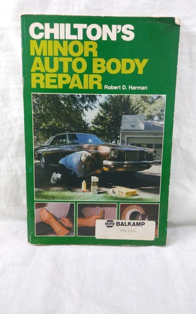 vtg chilton s minor auto body repair manual by robert d harman rh pinterest com Chilton Auto Repair Manual Scout II Chilton Auto Repair Manual Scout II