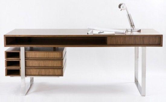 designer office desks. The Walnut \u0026 Maple Wood Boxeo Desk By Cliff Young, LTD. Designer Office Desks
