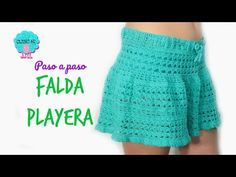 bbaaa8fe1 Falda a crochet para niña paso a paso muy fácil y rápido - YouTube ...