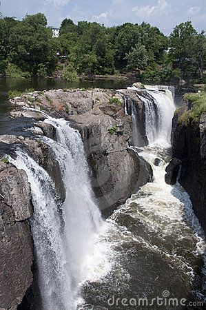 waterfalls New Jersey | The Great Falls Of Paterson New