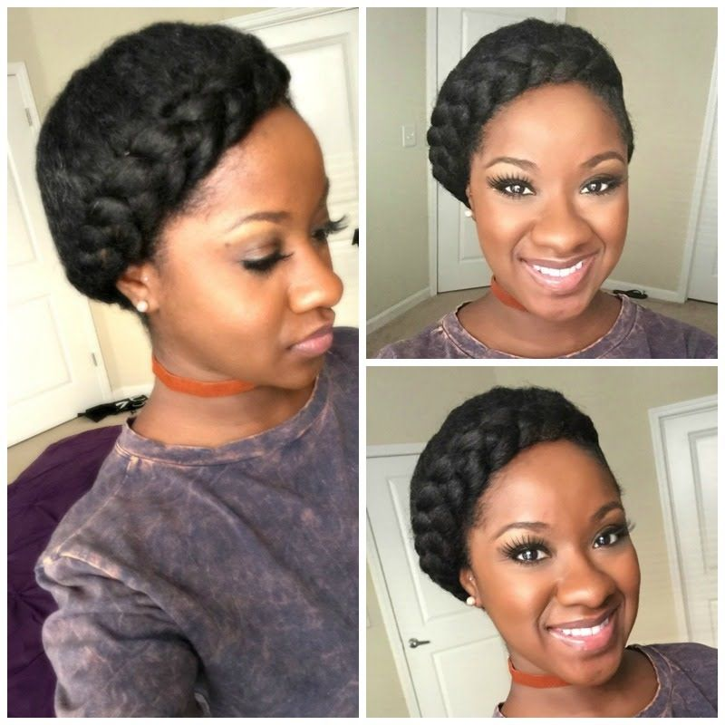 Goddess Halo Braid Tutorial Halo Braid Natural Hair Goddess Braids Shaved Side Hairstyles