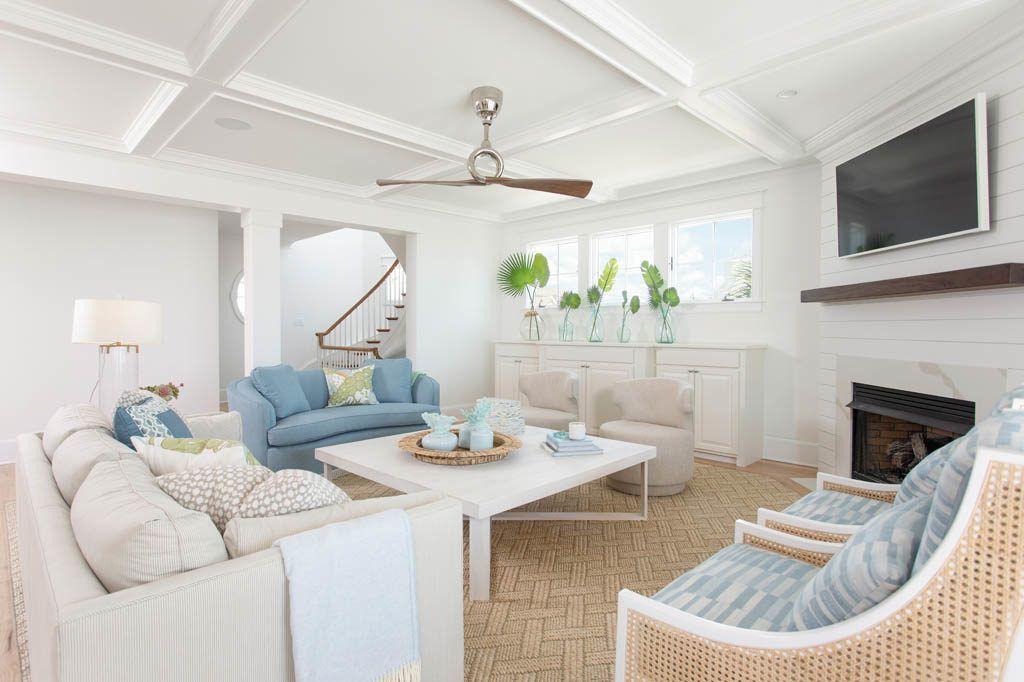 Modern + colorful beach house // Wilmington, NC | Beach ...