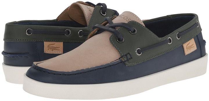 finest selection 77ecc d4019 Lacoste Keellson Premium 3 Boat Shoes, Men s Shoes, Sperrys, Lacoste, Man  Shoes