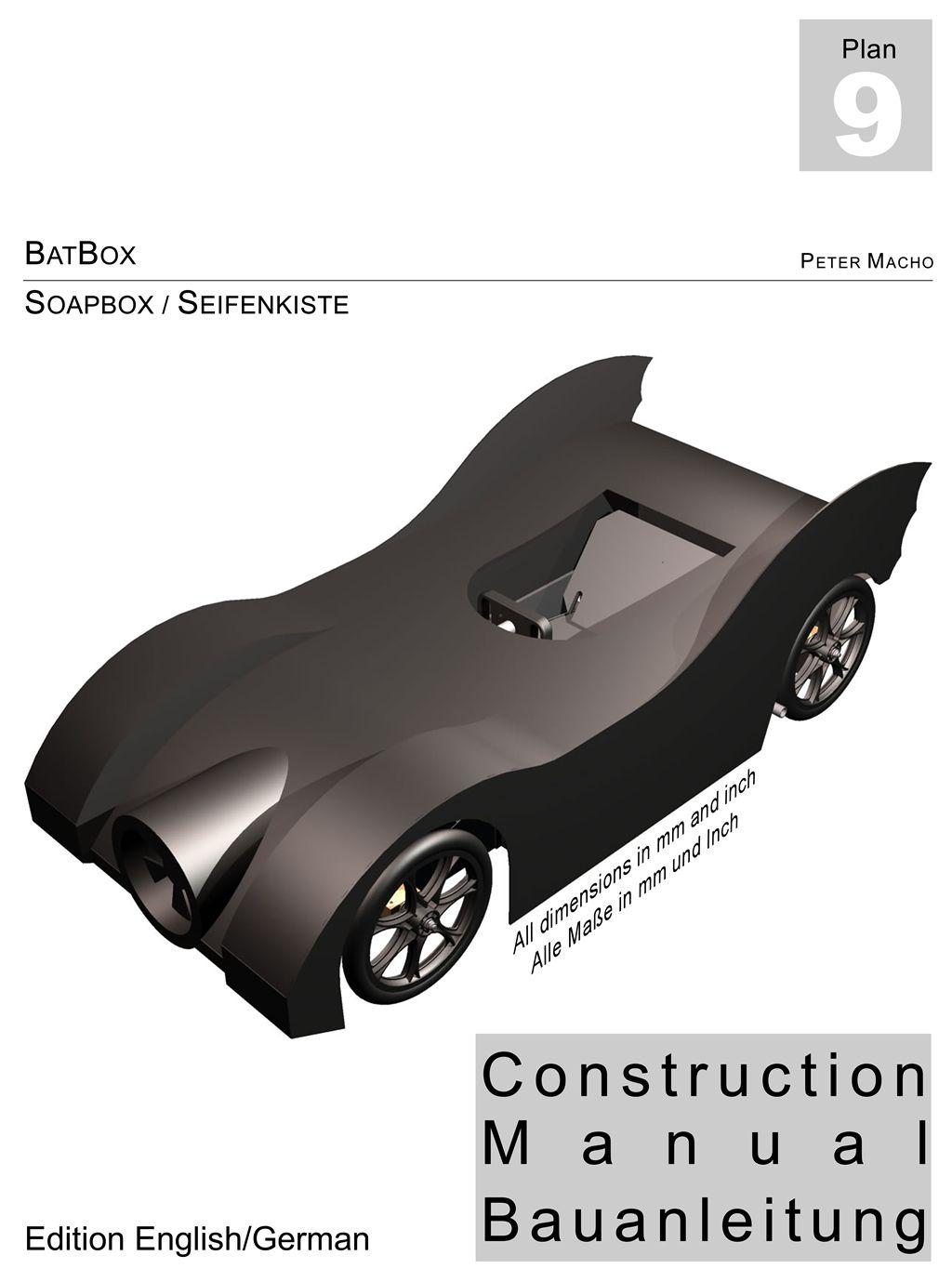 badbox bauanleitung seifenkiste / construction manual soapbox