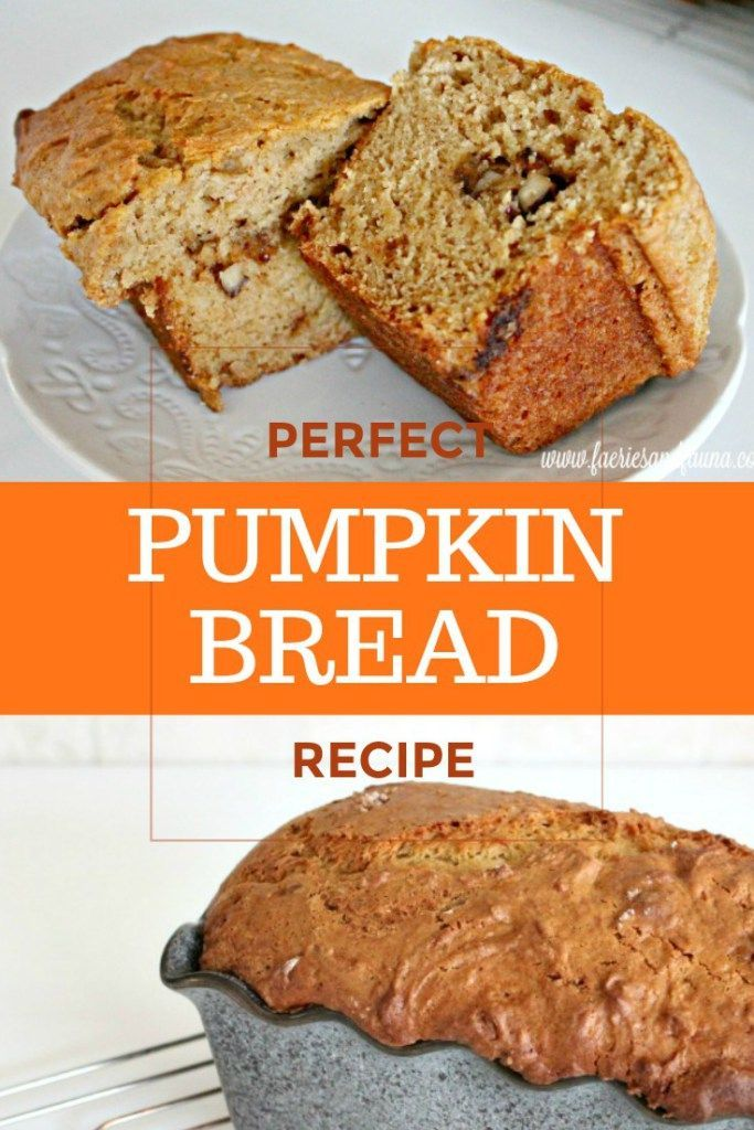 Pumpkin Loaf With Nut Filled Centers Recipe Pumpkin