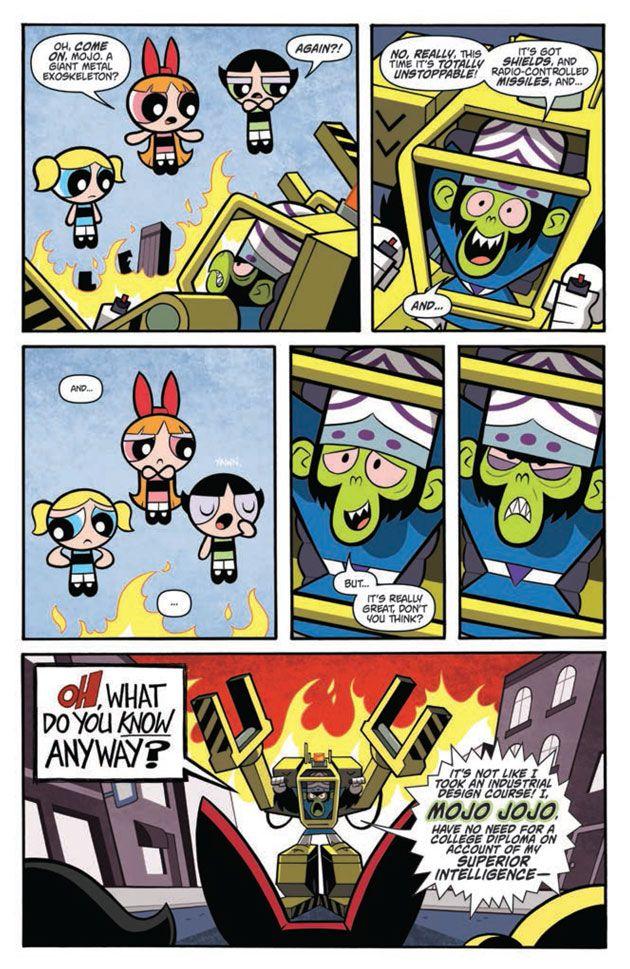 Apologise, Powerpuff girls comic strips long