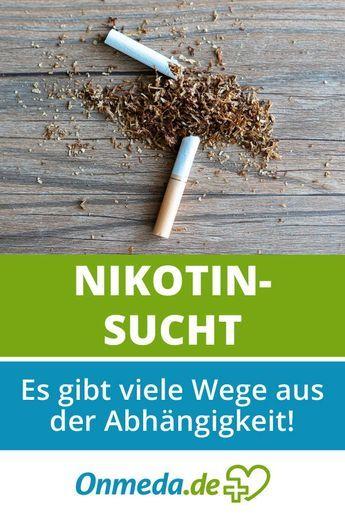 Nikotinsucht » Therapie » Lungenaerzte-im-Netz
