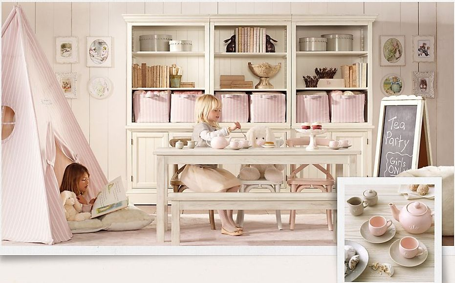 Bedroom Unique Girls Room Decor Girls Playroom Cream Pink Girl Room Decor  Little Dining Room Wooden Toys Cabinet Picture Frame Wall Decor Playful  Girls Room ...