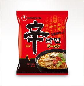 辛ラーメン 袋麺 | 製品情報 | NONGSHIM