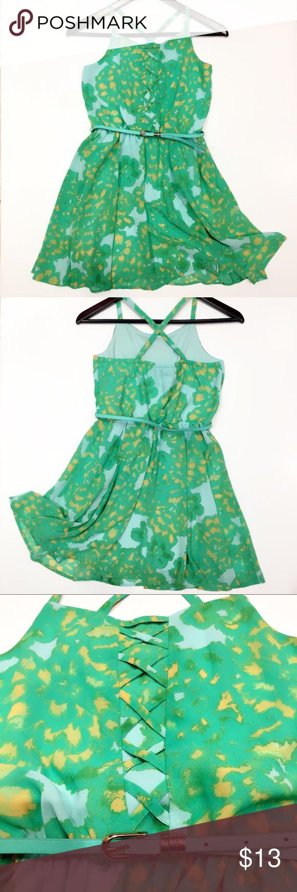 c0eeb1445ce GB girls casual dress Size L Junior EUC Gianni Bini GB girls Dresses Casual