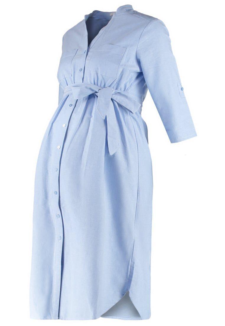 mint&berry mom Blusenkleid - light blue - Zalando.de