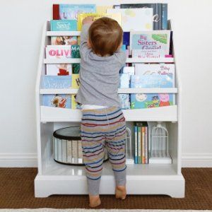 madison standalone bookrack, simply white in 2019 mountain kidscheaper version with baskets at the bottom? madison standalone bookrack pottery barn kids
