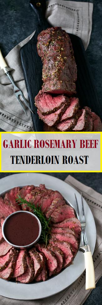 Photo of GARLIC ROSEMARY BEEF TENDERLOIN ROAST – Easy Recipes#beef #e…