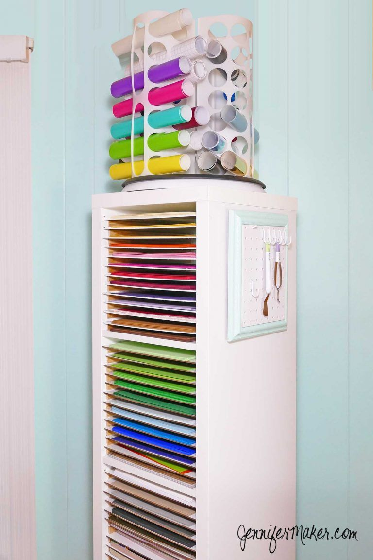 One Of These Would Be So Beneficial For Me No Joke I Have Much Paper And Can T See Any It Plus The Vinyl Storage Cricut Tools Hanger Are