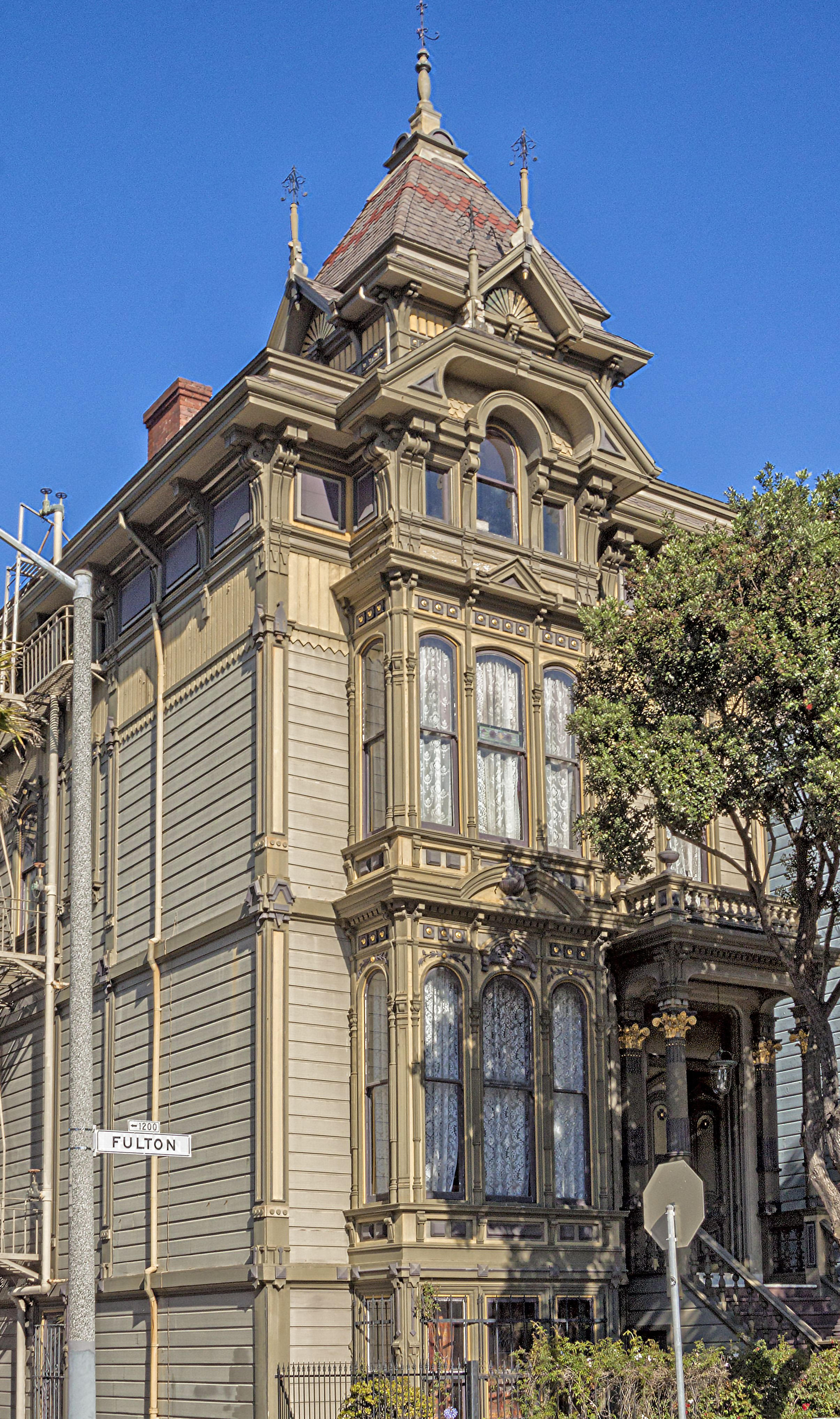 Check out San Francisco's most famous Victorian architecture - and the  settings for Full House,