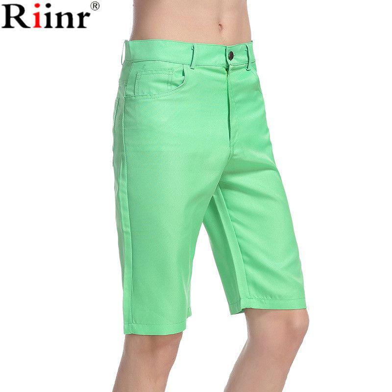 Riinr 2017 Fashion Men's Knee Length Shorts High Quality Brand Mens Short Summer Street New Arrival Shorts Men Free Shipping