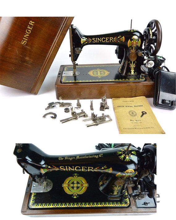 Antique Singer Sewing Machine 40 LOTUS 4040 Instruction Manual Beauteous Lotus Singer Sewing Machine