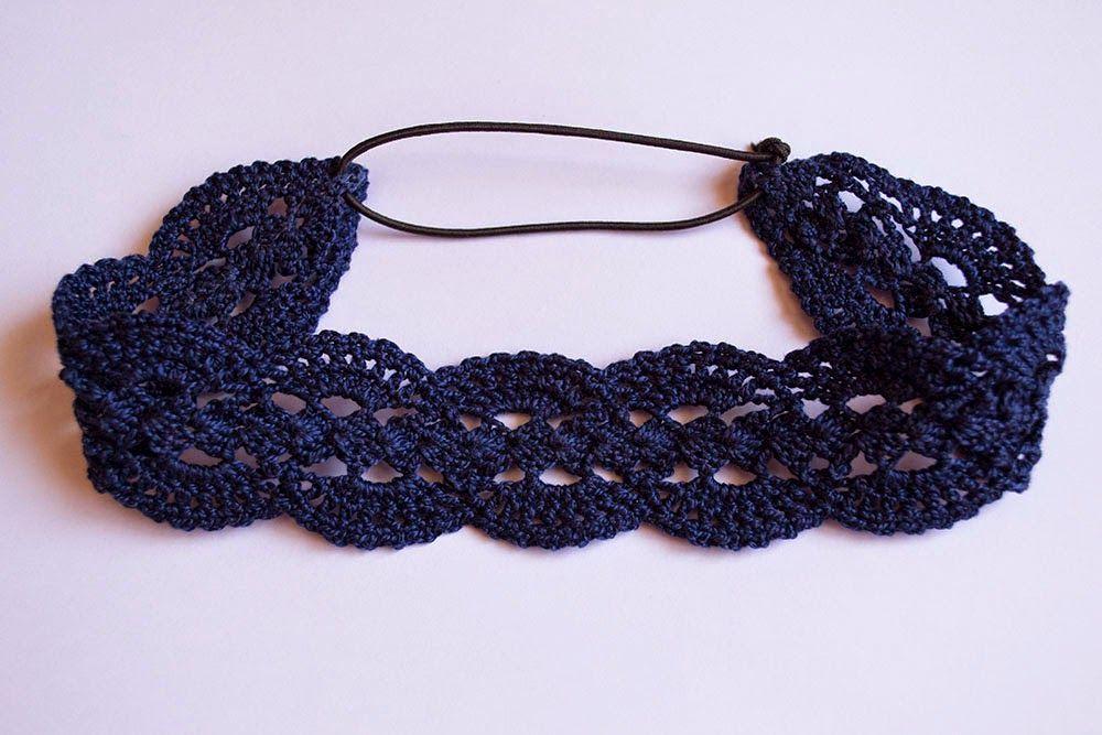Diadema Calada De Ganchillo Crochet Pinterest Crochet