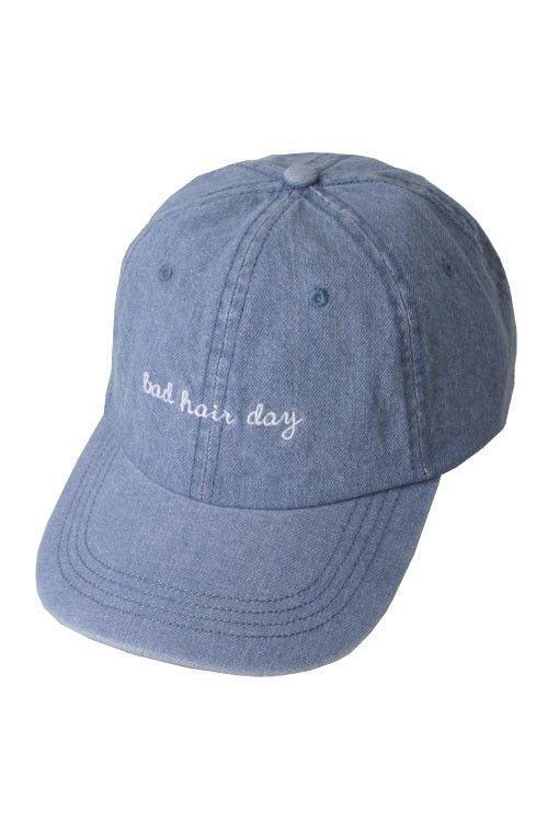 Bad Hair Day Blue Cap  b2e2501ff75a