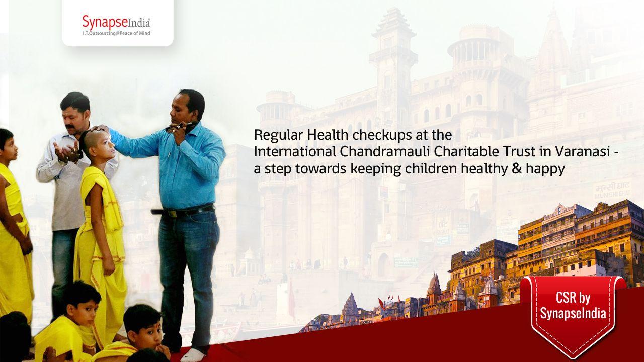 Regular Health checkups at the International Chandramauli