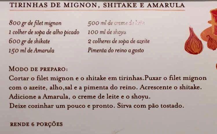 Filet mignon e Amarula